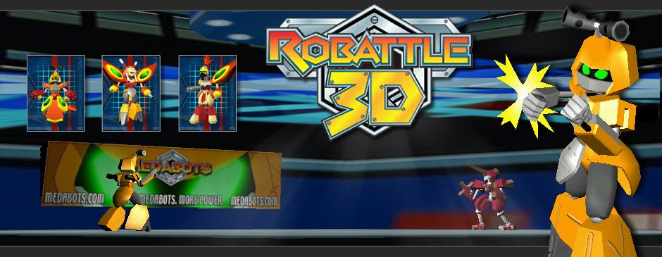 Medabots: Robattle3D